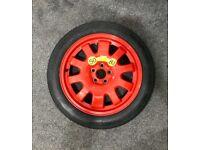 Genuine Jaguar XJ XF Space Saver Spare Wheel T135/80 R18 Pirelli Tyre
