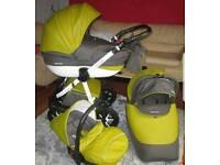 3 in 1 travel system pushchair
