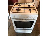 INDESIT 60cm Wide Gas Cooker Fully Working with 4 Month Warranty