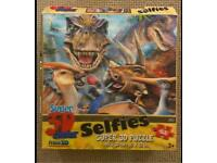 T-Rex Selfie Puzzle - Super 3D Effect