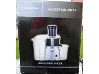 Bargain Brand New Unopened Cookworks Signature Whole Fruit Juicer & Blender
