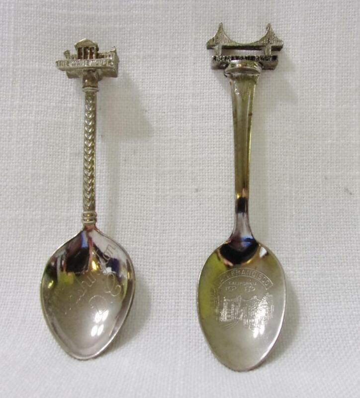 Two Collector Spoons