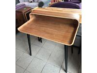 NEW. Walnut Veneer desk
