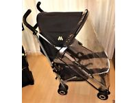 maclaren quest buggy pam with raincover ,gwo clean