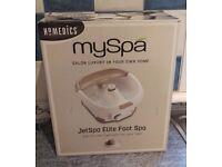 HoMedics MySpa - Foot Spa