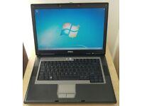 Dell D531 Laptop - 2 GB RAM, 80 GB HDD - WiFi, DVD RW - Windows 7 Pro
