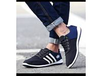Mens casual trainers shoes size UK-8.5 EU43