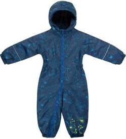 Regatta splash suit fleece lined all in one 12-18 months