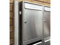 Stainless Steel Mail Boxes for offices ( Set of 12)
