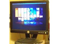 """Dell 17"""" LCD Computer Monitor (includes both cords)"""