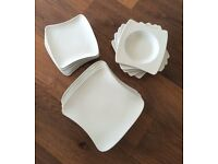 Dinner Plates, Side Plates & Bowls