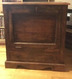 Hard wood chest - great condition