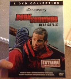 Bear grylls born survivor box set