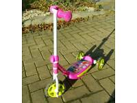 Disney 3 wheel scooter - Pink