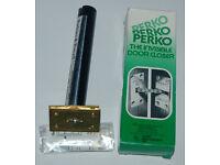 seven perko door closers - ORIGINAL AND UNUSED