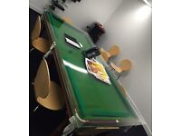Snooker/Pool Table Large with Table Cover