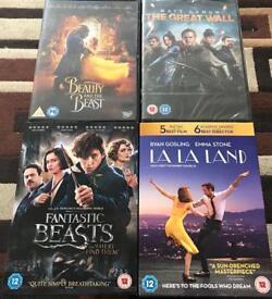 4 Latest DVD's