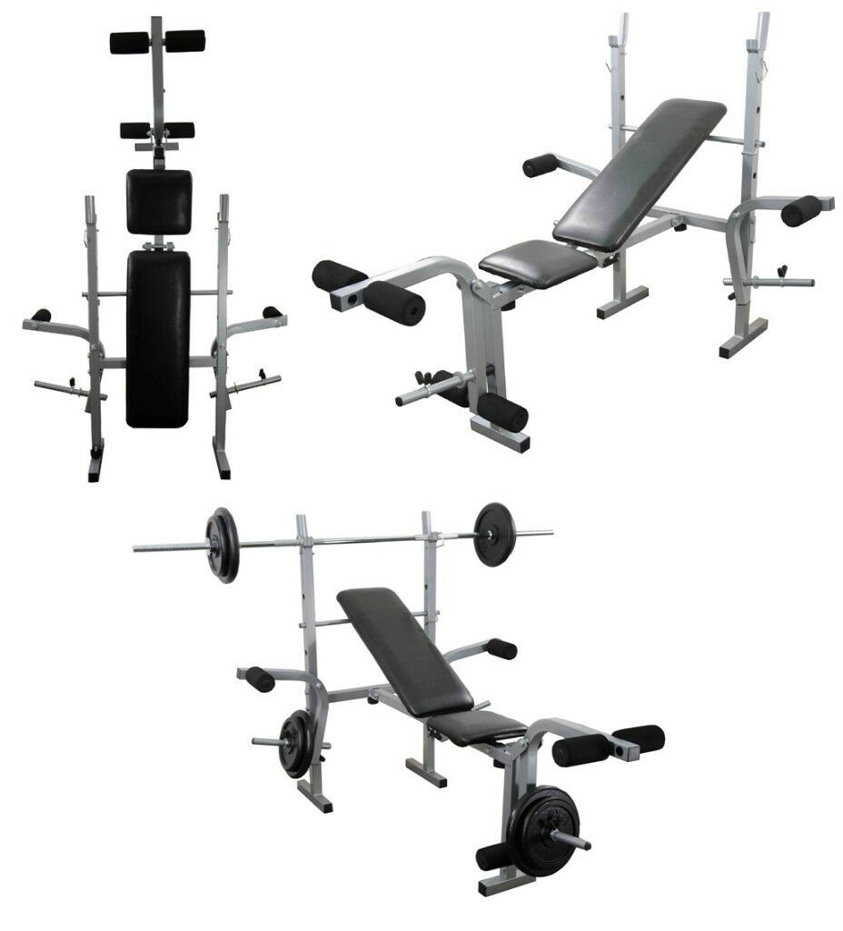 Training Bench Adjustable Multi Gym Weight Lifting Bench: