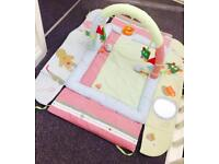 Large baby play mat gym