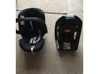 Mamas & papas car seat & Isofix Base