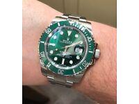 "Rolex Submariner 116710LV ""Hulk"""