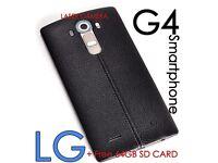 "LG G4 NEW MOBILE PHONE UNLOCKED BLACK BOXED SUPERB CAMERA LASER COMPUTER SLIM 5.5"" VIVID"