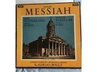 Handel MESSIAH. 3 LP BOX SET. DECCA SET 218-20. WIDE-BAND.