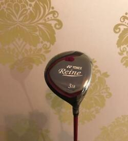 Yonex Ladies Reine No.3 Fairway 18.0* Light Flex Graphite Shaft R/H New