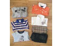 DESIGNER baby boys summer clothes bundle 6-9 months