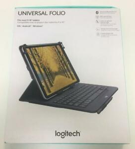 Logitech Universal Folio Integrated Bluetooth 3.0 Keyboard Model (920-008334)