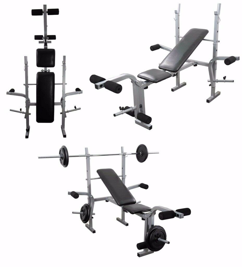 Training Bench Adjustable Multi Gym Weight Lifting Bench