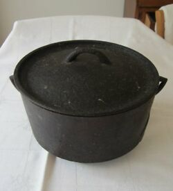 Antique cast iron pot