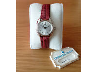 Universal Geneve Ladies Swiss Watch / Jewelry - New Old Stock 1970s - Manual Wind, Mint Condition
