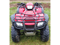 Honda Foreman 500FA Quad Bike 4x4 Farm Utility Off Road Quad ATV
