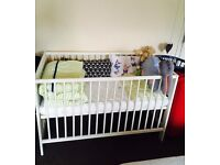 IKEA Bed with MATTRESS for newborn