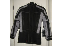 Frank Thomas XTi black/grey waterproof motorcycle jacket - NEW