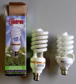 Androv energy saving daylight full spectum lamps, SAD, Negative Ion