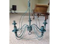 Beautiful birdcage chandelier light fiting