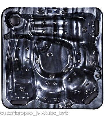 MIAMI SPAS HAPPY LUXURY HOT TUB-SPA WHIRLPOOL 5-6 PERSON-BLUETOOTH-32 AMP-