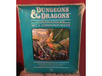 This is the 1984 Dungeons and Dragons Companion Set #3