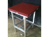 50mm thick poly chopping table