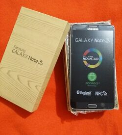 brand new samsung note 3 32gb (unlocked)