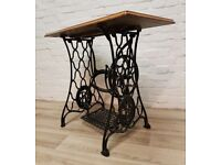 Sewing Machine Console Table (DELIVERY AVAILABLE FOR THIS ITEM OF FURNITURE)