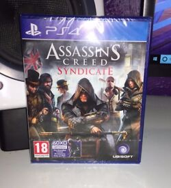 PS4 Assassin's Creed Syndicate - Brand New & Sealed