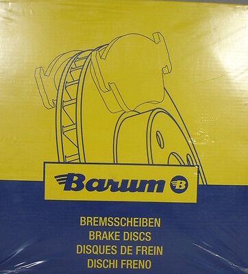 BARUM Original (2 Stück) Bremsscheibe Alfa, Fiat ua. Bj.86-   BAR22147