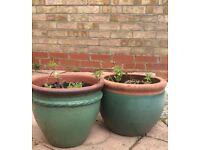 4 Garden Plant Pots