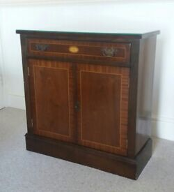 Cabinet With Drawer And Cupboard Beneath