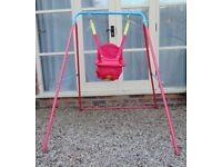 Chad Valley Baby/Toddler Swing, Good Condition £12