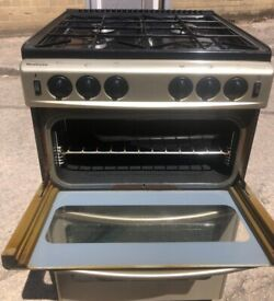NEWHOME GAS COOKER FREESTANDING 60CM IN EXCELLENT CONDITION FREE DELIVERY MCR