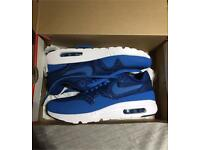 Nike air max 1 blue brand new size 7 mens Genuine